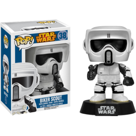 Star Wars Biker Scout Pop! Vinyl